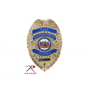 Deluxe Bail Enforcement Badge