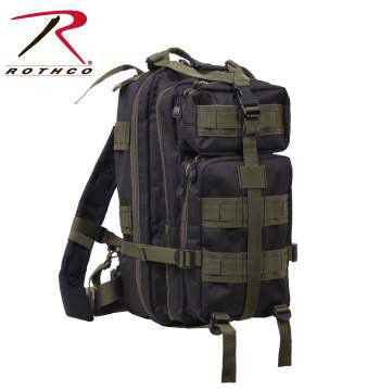 Rothco Medium Transport Pack- Black w/ Olive Drab Accents
