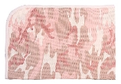 Infant Pink Camouflage Receiving Blanket