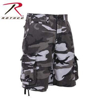 Vintage Infantry Utility Short- City Camouflage
