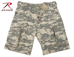 Ultra Force ACU Digital Vintage Wash Cargo Short
