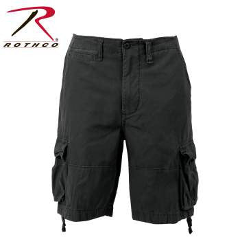 Vintage Infantry Utility Short- Black