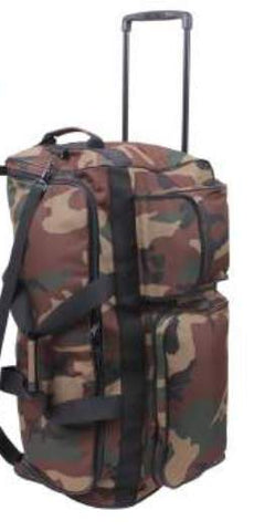 "Camo 30"" Military Expedition Wheeled Bag"
