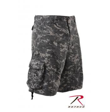 Vintage Infantry Utility Short- Subdued Urban Digital Camo