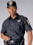 Genuine Issue Police and Security Uniform Shirts. Navy Blue Short Sleeve