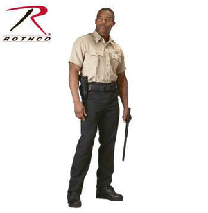 Police and Security Issue Short Sleeve Shirt- Khaki