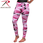 Womens Pink Camo Leggings
