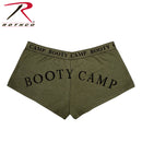 "Women's ""Booty Camp"" Shorts & Top- Olive Drab"