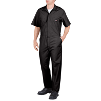 Dickies Short Sleeve Coverall-Black