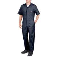 Dickies Short Sleeve Coverall-Dark Navy