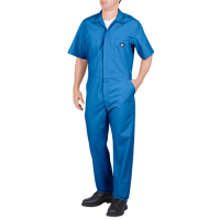 Dickies Short Sleeve Coverall-Medium Blue