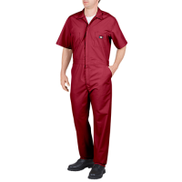 Dickies Short Sleeve Coverall-Red