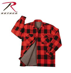 Extra Heavyweight Brawny Sherpa-Lined Flannel