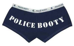 Women's Police Booty Shorts
