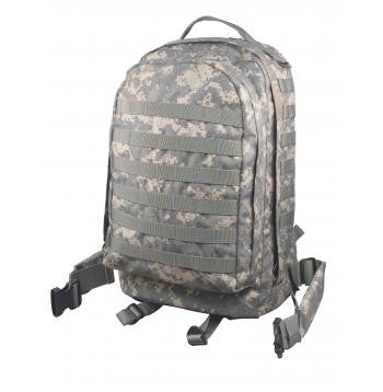 Tactical M.O.L.L.E. II  3 Day Assault Backpack-ACU Digital