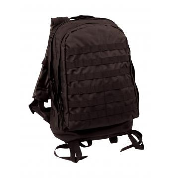 Tactical M.O.L.L.E. II  3 Day Assault Backpack- Black
