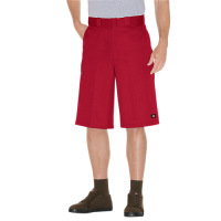 "Dickies Loose Fit 13""  Multi-Pocket Work Short- ENGLISH RED"