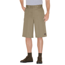 "Dickies Loose Fit 13""  Multi-Pocket Work Short- KHAKI"