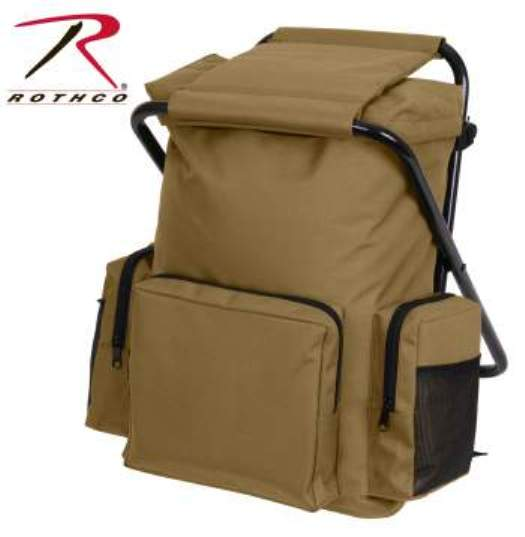 Backpack & Stool Combination Pack