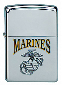 Zippo Exclusive Marine Globe and Anchor Lighter