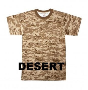 Kid's  Digital Camouflage Tee Shirts