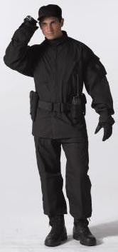 Black Strategic Deployment Uniform Pant -Made to Mil-Specs