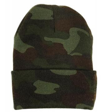 Deluxe Woodland Camouflage Watch Cap
