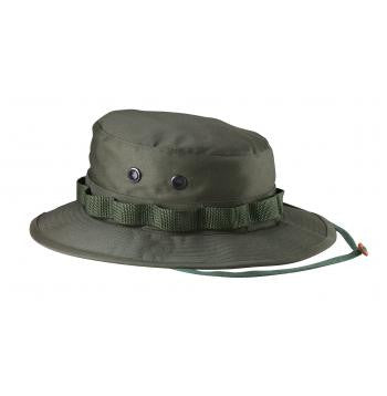 Boonie Hat Olive Drab -100% Rip-Stop or Poly/Cotton Blend