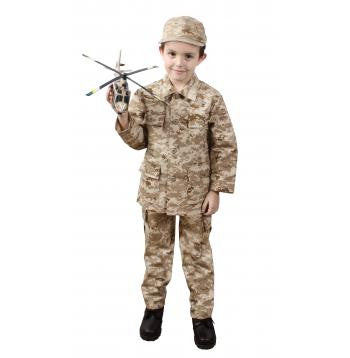 Kid's Military Fatigues- Desert Digital