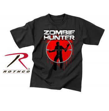 Zombie Hunter Vintage Black Short Sleeve Tee