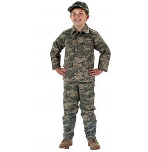 Kid's Military Fatigues- A.C.U. Digital