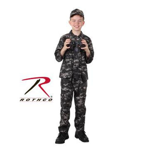 Kid's Military Fatigues- Subdued Urban Digital