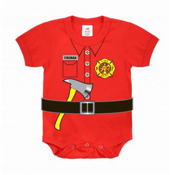 Infant One Piece Bodysuit- Fire Dept.