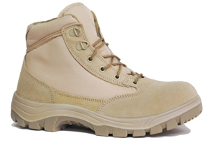 "Work Zone 6"" Desert Tactical Boot- Steel Toe"