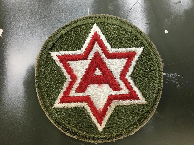 PATCH- ORIGINAL 6TH ARMY PATCH