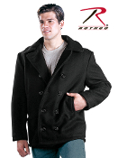 U.S.A. MADE NAVY TYPE WOOL PEACOAT