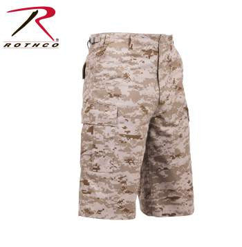 X-Long Fatigue Shorts- Desert Digital
