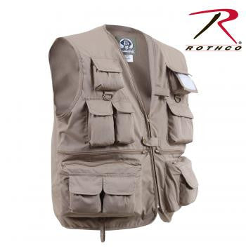 Uncle Milty Travel Vest-Khaki