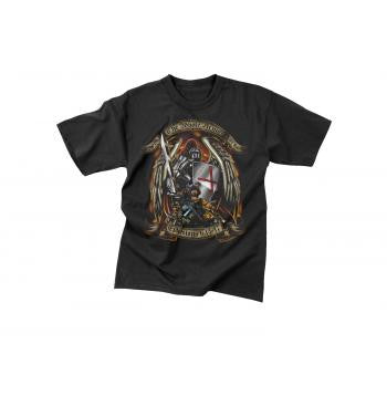 Black Ink Design Put on the Full Armor of God Tee