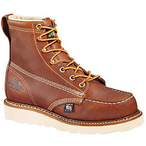THOROGOOD AMERICAN HERITAGE – 6″ TOBACCO SAFETY TOE – MOC TOE MAXWEAR WEDGE™.- 804-4200