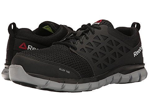 Reebok Work Sublite Cushion Work RB4041- Alloy Toe- Super Light!