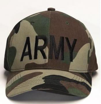 US Army Camouflage Ball Cap