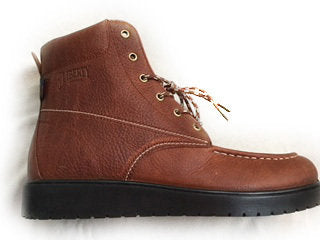"LIBERTY GARY: 6""  LACE-UP BOOT- RUSSET WITH BLACK SOLE"