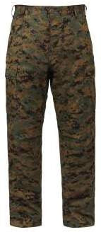 Battle Dress Pants- Woodland Digital