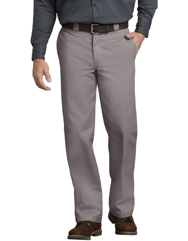874 Dickies Traditional Work Pant-  Silver Gray