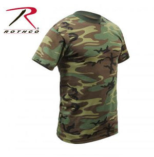 Woodland Camouflague T-Shirt