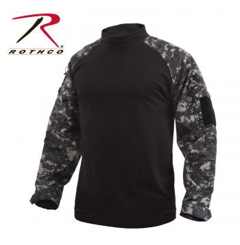 Subdued Urban Digital Combat Shirt -Made to Mil-Specs