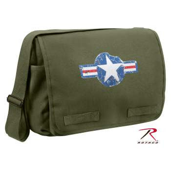 Air Corps Heavyweight Classic Messenger Bag