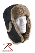 Fur Flyer's Hat-Black