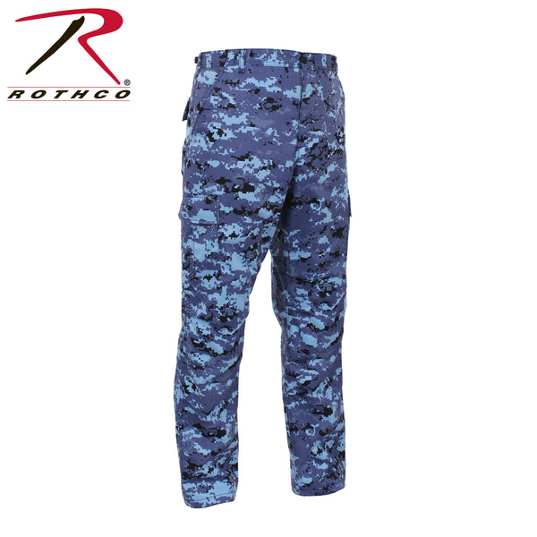 Rothco Sky Blue Digital Camo Tactical BDU Pants
